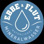 Ebbe und Flut Natürliches Mineralwasser